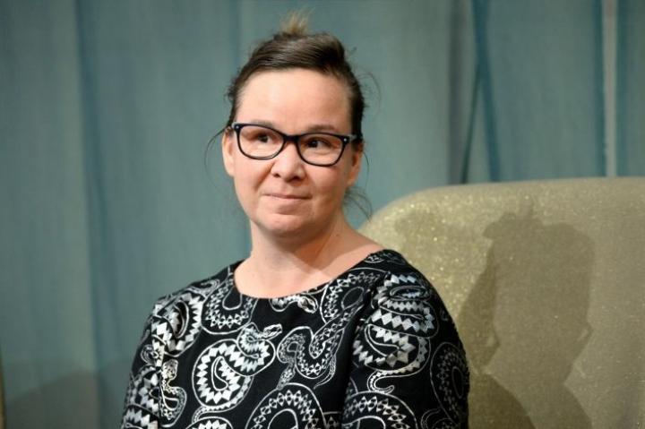 """""""Seuraava hallitus saa ramman kulttuurialan"""", sanoo kulttuurialan edunvalvontajärjestön Kulta ry:n pääsihteeri Rosa Meriläinen. LEHTIKUVA / MIKKO STIG"""