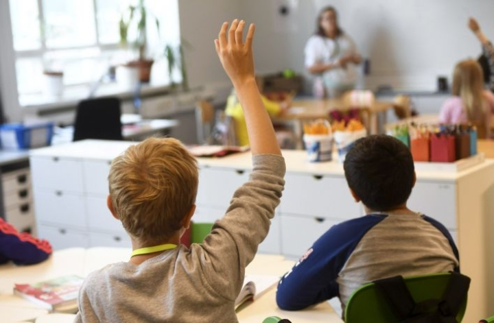 Muutaman vuoden laskusuhdanteen jälkeen opettajankoulutuksen hakijamäärät ovat kääntyneet tänä vuonna nousuun. LEHTIKUVA / VESA MOILANEN
