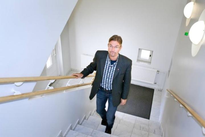 Teemu Kejonen arkistokuvassa Rääkkylässä vuonna 2013.
