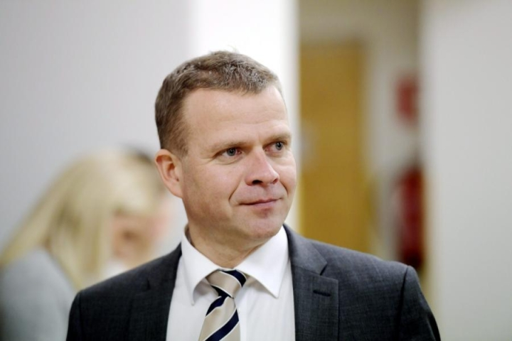 Valtiovarainministeriön talousennuste osoittaa, että nousu ei ole alkanut vieläkään, sanoo valtiovarainministeri Petteri Orpo (kok.).  LEHTIKUVA / MARKKU ULANDER