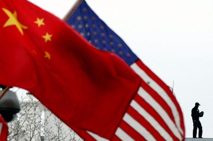 Yhdysvaltain ja Kiinan ensimmäisen vaiheen kauppasopimuksesta saatiin sopu joulukuussa. LEHTIKUVA/AFP