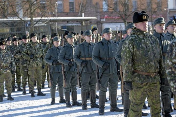 Puolustusvoimat osallistui jääkäreiden kotiinpaluun satavuotisjuhlaan Vaasassa viime viikonloppuna.
