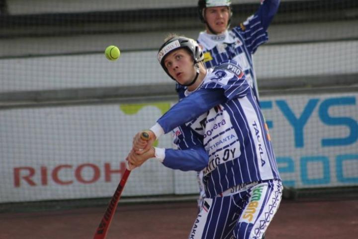 Hannes Pekkinen pelasi Seinäjoella uransa viidennen A-poikien arvo-ottelun.