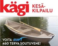 Kägi kesäkilpailu - voita soutuvene!