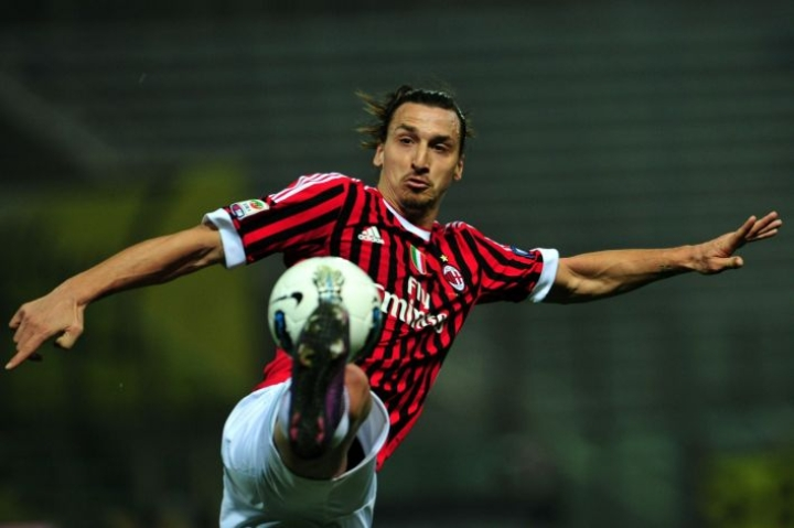Zlatan on ehdolla vuoden arvokkaimmaksi pelaajaksi, MLS-liigan vuoden uudeksi pelaajaksi sekä vuoden comeback-pelaajaksi. Lehtikuva/AFP