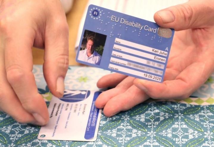 EU:n vammaiskortti on voimassa kahdeksassa Euroopan maassa.