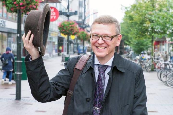 56-vuotias Markku Lindblad kannustaa ikääntyviä yrittäjiä pohtimaan tulevaisuutta ja yritysjärjestelyjä ajoissa.