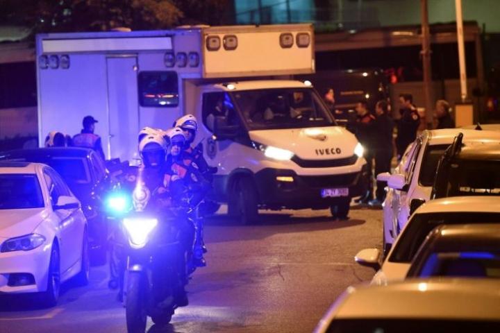 Saudi-Arabian Istanbulin-konsulaattia tutkittiin maanantaina. Lehtikuva/AFP