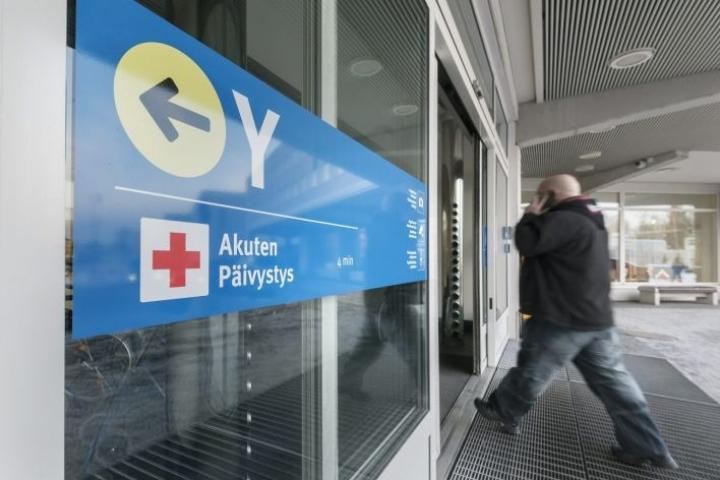 Kymmenen sairaanhoitopiiriä kertoi monenlaisista huolenaiheista. LEHTIKUVA / Johannes Tervo