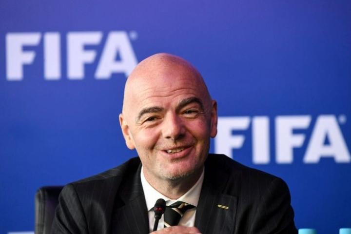 Fifa vastustaa menettelyä raivokkaasti. Kuvassa Fifan puheenjohtaja Gianni Infantino. Lehtikuva/AFP