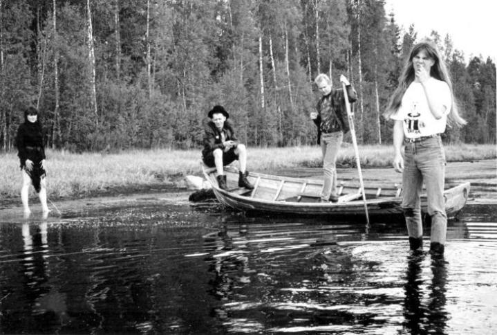 Noitalinna huraa! toi jäsentensä kotipaikan Peräseinäjoen Suomirockin kartalle. Yhtyeessä vaikuttivat vasemmalta lukien Sari Peltoniemi, Antti Tammela, Reijo Kärhä ja Hannu Sepponen.