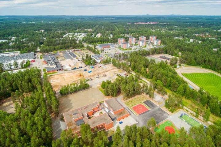 Rantakylä on ylivoimaisesti Joensuun suurin kaupunginosa.