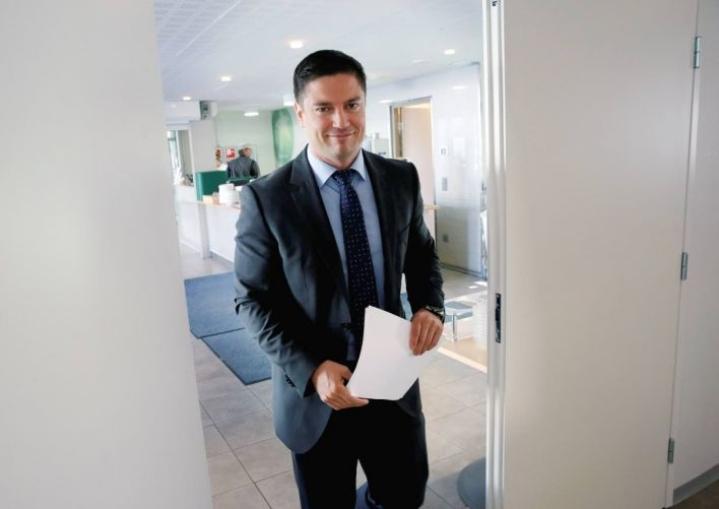 Kristian Ikonen on toisen polven hotelliyrittäjä.