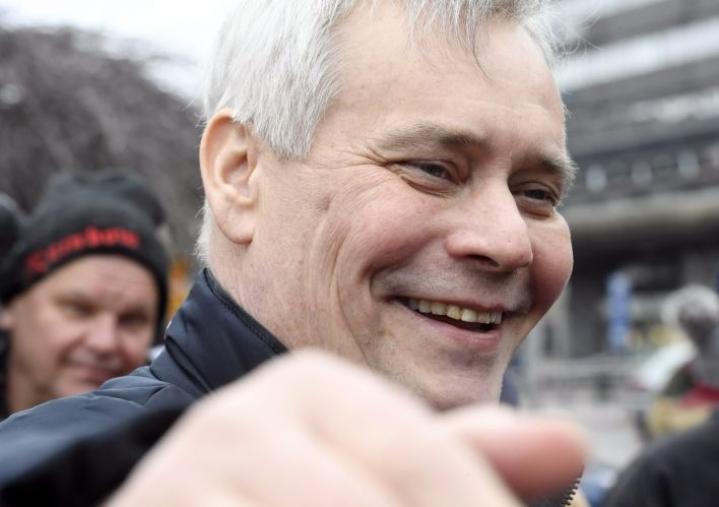 Antti Rinne johtaa gallupkärjessä olevaa SDP:tä. LEHTIKUVA / HEIKKI SAUKKOMAA
