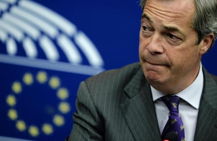 Britannian itsenäisyyspuolue Ukipin johtaja Nigel Farage ilmoitti heinäkuussa eroavansa, koska on saavuttanut tavoitteensa Britannian äänestettyä EU-eron puolesta. LEHTIKUVA/AFP