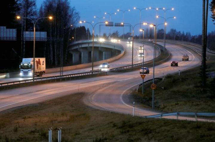 Kuva marraskuisesta Pekkalan sillasta vuodelta 2019.