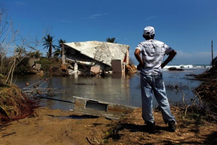 Viimeksi kaksi vuotta sitten Puerto Ricoa ravisteli voimakas Maria-hurrikaani. LEHTIKUVA/AFP
