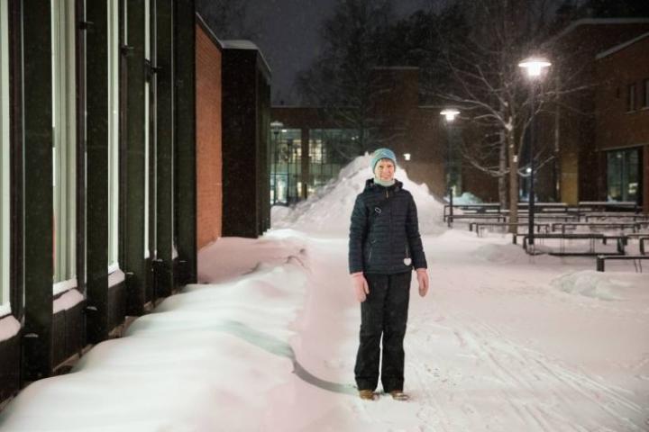 Maija Halonen on erityisen mielissään työterveyshuoltoon mukaan pääsemisestä.