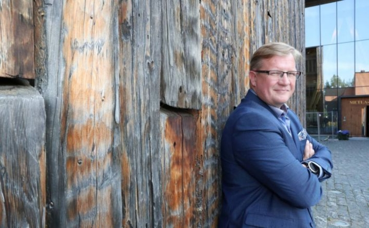 Ari Mononen arkistokuvassa vuonna 2019