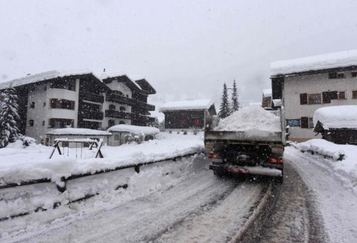 Zermatt 9. tammikuuta