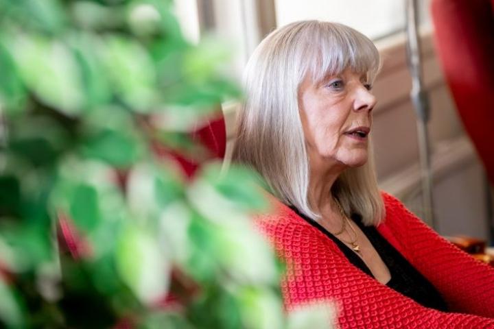 """Vapaaehtoistyön ohella syntyi Marjatta Rädyltä vuosi sitten omakustanteinen elämäkerta """"Siipirikosta elämään""""."""