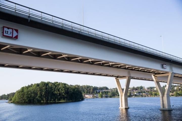 Arkistokuva Kuopion ja Heinäveden väliseltä vesireitiltä viime heinäkuulta.