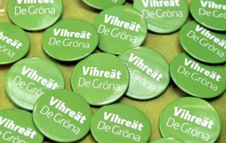 Vihreiden ryhmän puheenjohtaja vaihtuu, koska tehtävää hoitanut Krista Mikkonen valittiin ympäristö- ja ilmastoministeriksi. LEHTIKUVA / MARKKU ULANDER