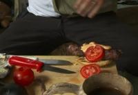 Tarezoppa: Kebabia hampurilaisen välissä